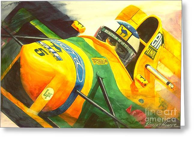 Automobilia Greeting Cards - Spa Greeting Card by Robert Hooper