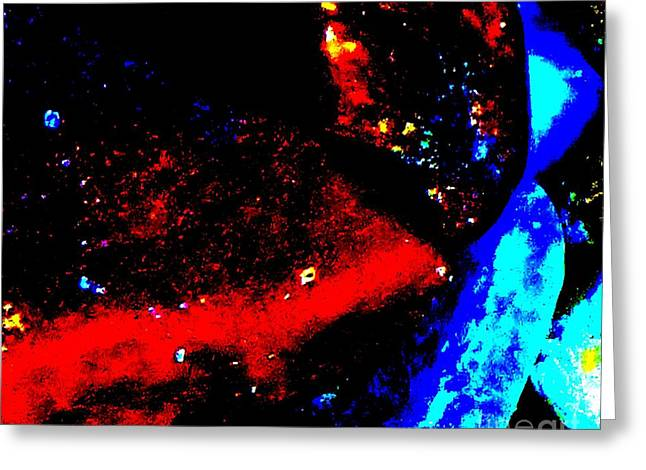 Intergalactic Space Photographs Greeting Cards - Space And Time Greeting Card by Tim Townsend