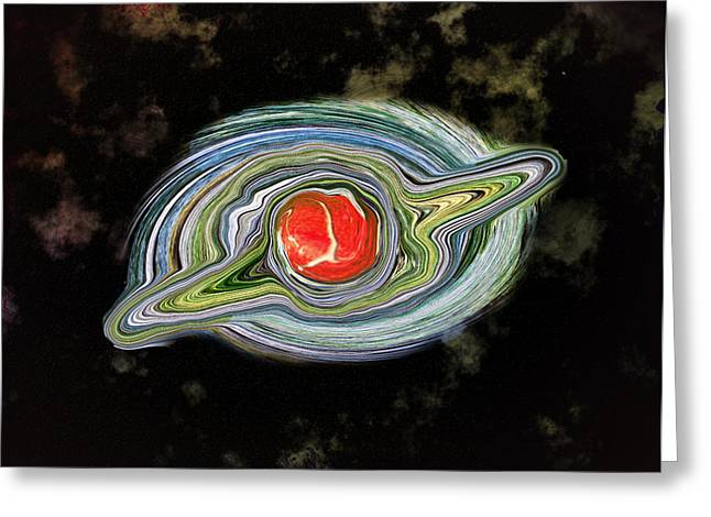 Startrek Greeting Cards - Space the Final Frontier Greeting Card by Bill Cannon