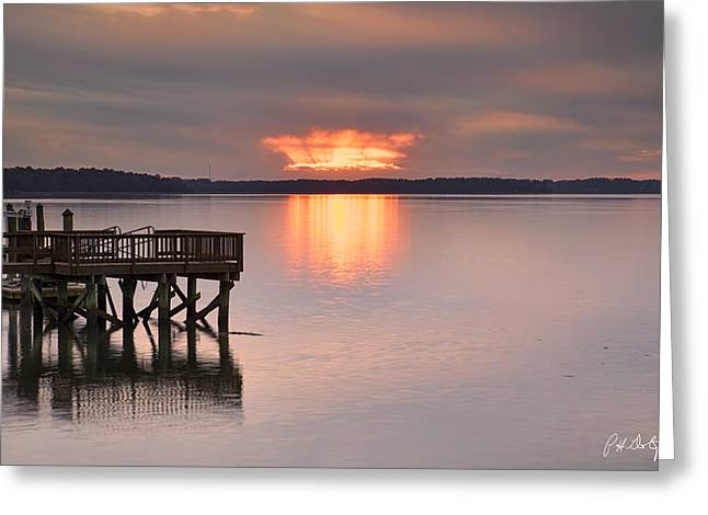 Beaufort County Greeting Cards - Spaceship Or Sunset Greeting Card by Phill  Doherty