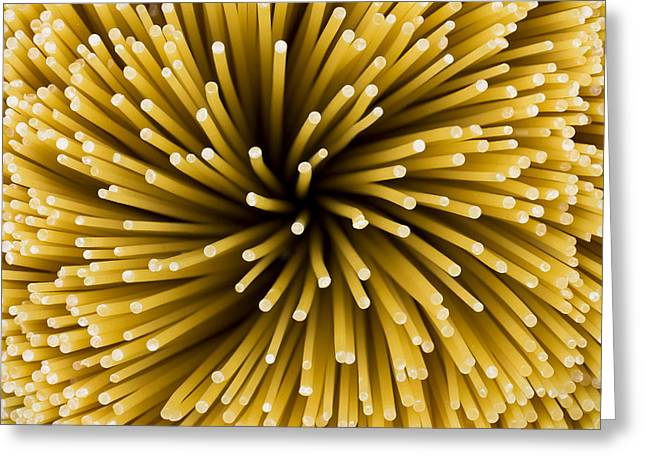 Spaghetti Noodles Greeting Cards - Spaghetti Noodles Greeting Card by Joe Belanger