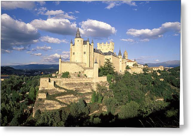 Castilla Greeting Cards - Spain, Castilla Y Le—n, Segovia Greeting Card by Tips Images