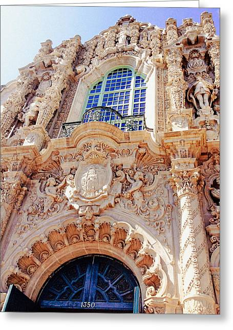 Balboa Park Greeting Cards - Spanish Architecture - California Greeting Card by Vivienne Gucwa