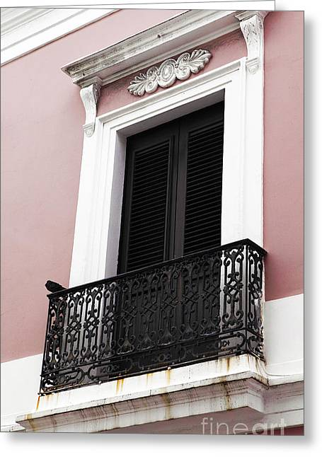 Old San Juan Prints Greeting Cards - Spanish Colonialism Architecture Greeting Card by John Rizzuto