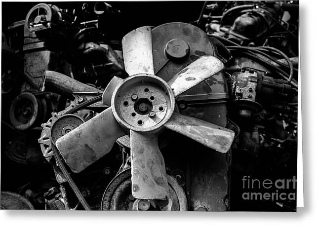 Manufacturing Greeting Cards - Spare Parts II Greeting Card by Dean Harte
