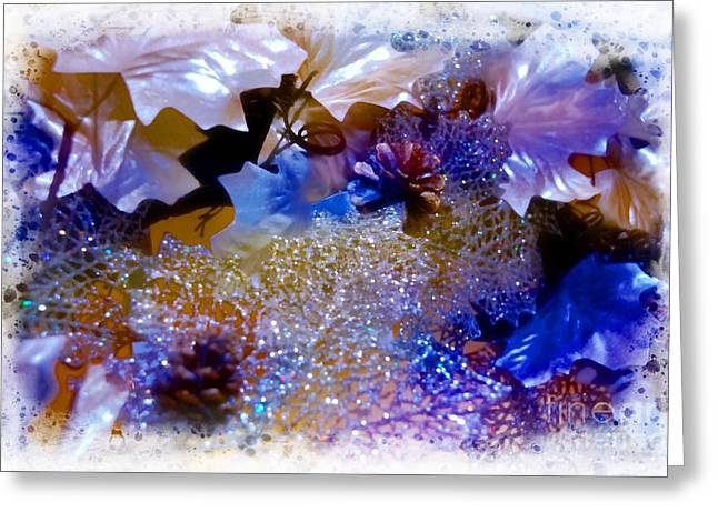 Sparkles Greeting Card by Kathleen Struckle