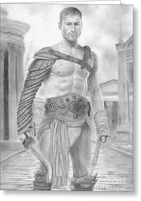 Spartacus Greeting Card by Wave