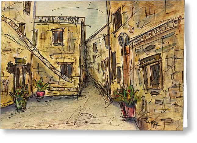 Tim Ross Greeting Cards - Speaking of Spain Greeting Card by Tim Ross