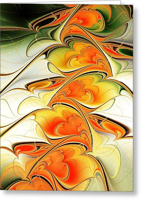 Feng Shui Art Mixed Media Greeting Cards - Special Greeting Card by Anastasiya Malakhova