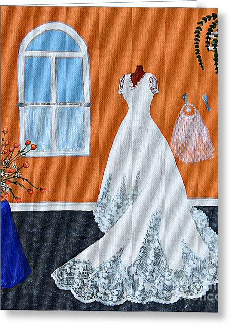 Crinoline Greeting Cards - Special Day Greeting Card by Barbara Griffin