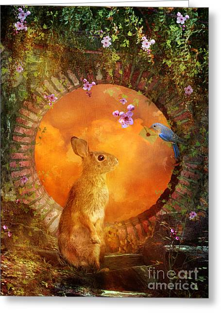 Delivery Greeting Card featuring the digital art Special Delivery by Aimee Stewart