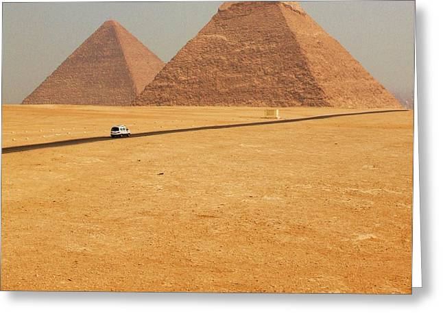 Pyramids Greeting Cards - Special Delivery Greeting Card by Sergio B