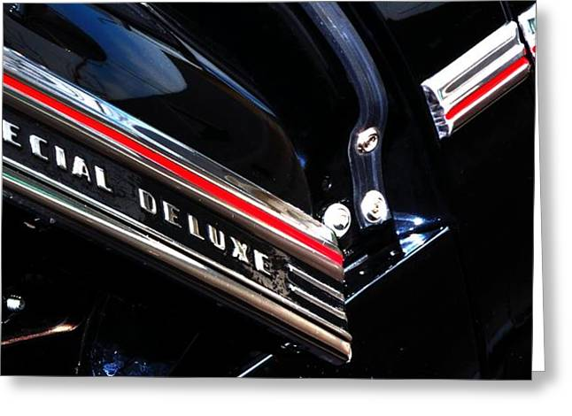 Chev Deluxe Auto Greeting Cards - Special Deluxe 14780 Greeting Card by Jerry Sodorff