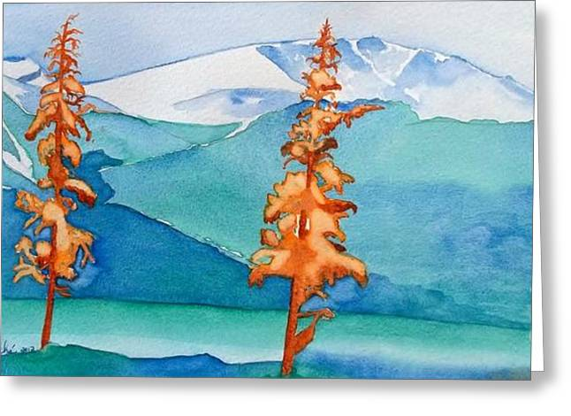 Special Trees At Jasper Greeting Card by Lise PICHE