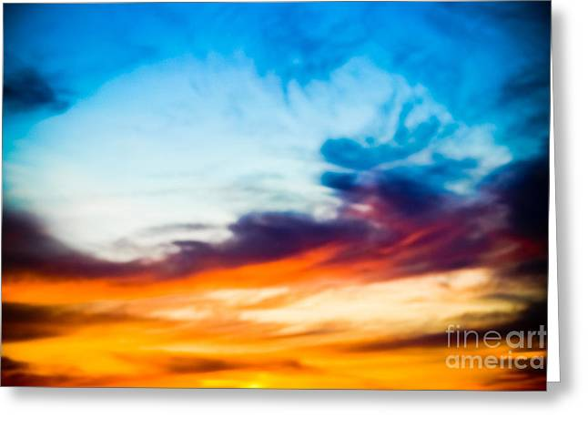 Original Photographs Greeting Cards - Spectacular Sky Greeting Card by Colleen Kammerer