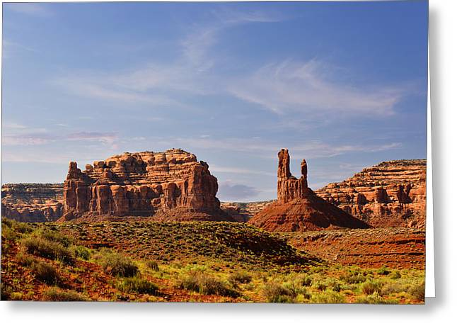 Rolling Stones Greeting Cards - Spectacular Valley of the Gods Greeting Card by Christine Till