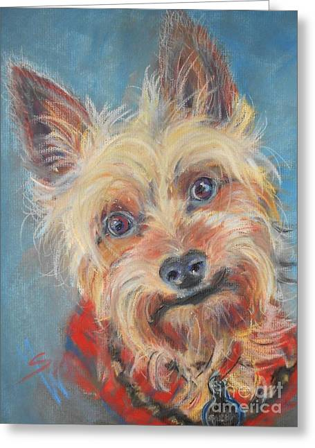 Best Sellers -  - Mindy Sue Werth Greeting Cards - Spector Greeting Card by Mindy Sue Werth