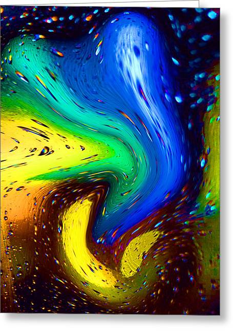 Out Of Reality Greeting Cards - Spectral Ghosts Greeting Card by Bruce Iorio
