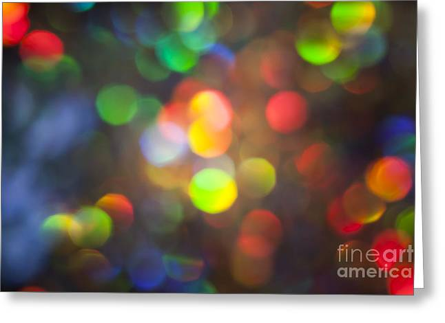 Vivid Colour Greeting Cards - Spectrum Greeting Card by Jan Bickerton