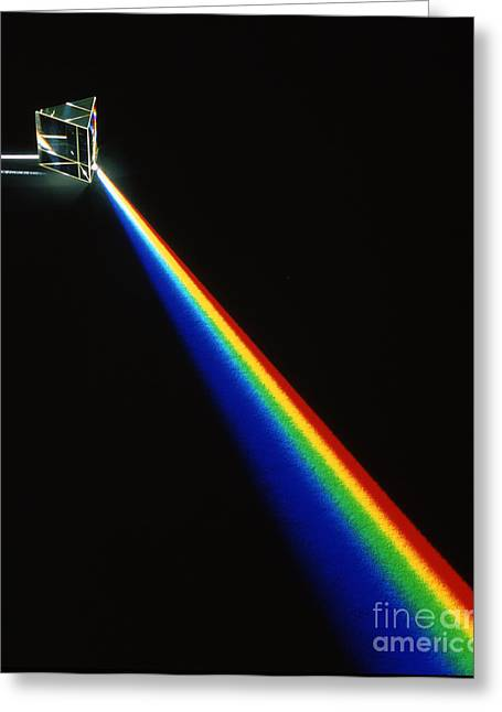 Spectrum Greeting Cards - Spectrum Of Light Greeting Card by D. Parker
