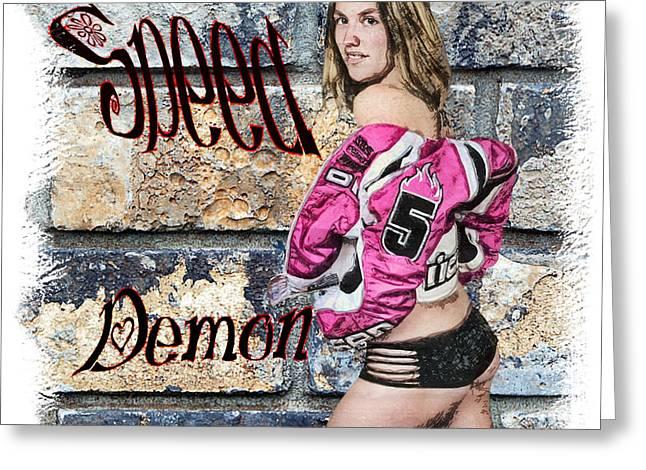 Dantzler Photo Art For Sale Greeting Cards - Speed  Demon Greeting Card by Andrew Govan Dantzler