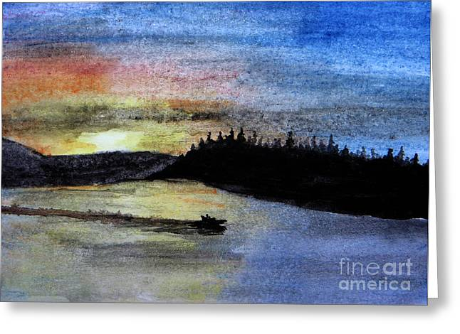 Ontario Sports Art Greeting Cards - Speed Home Greeting Card by R Kyllo