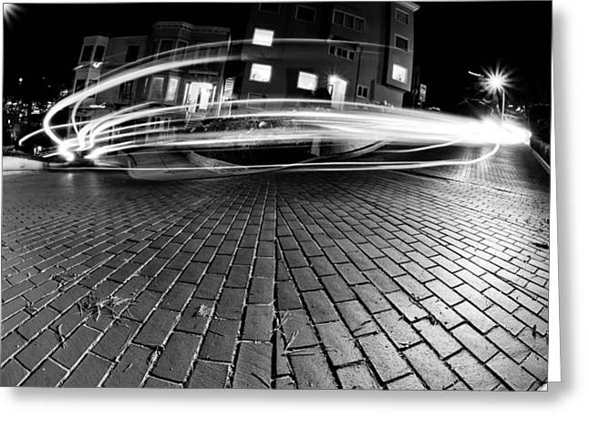 Fish Picture Greeting Cards - Speed in the Night Greeting Card by Gianfranco Weiss