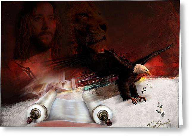 Christ work Digital Greeting Cards - Speed in the Spirit Greeting Card by Tamer and Cindy Elsharouni