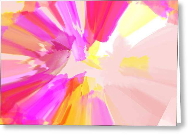 Abstract Digital Photographs Greeting Cards - Spellbound Greeting Card by Diana Angstadt