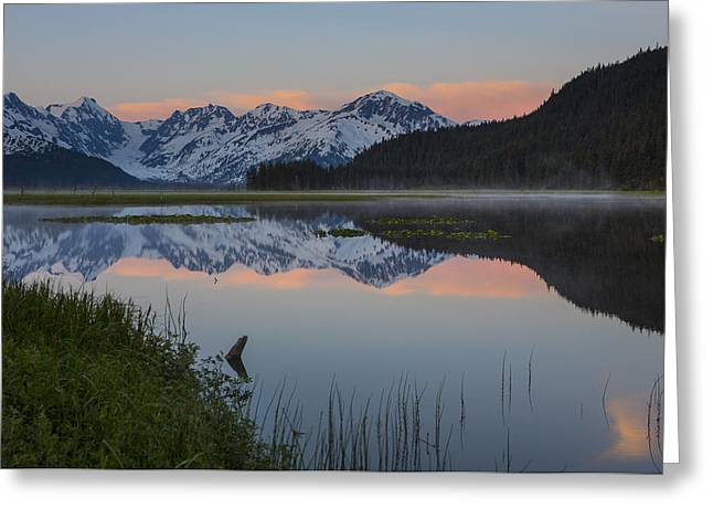 Portage Photographs Greeting Cards - Spencer Galcier Sunrise Greeting Card by Tim Grams
