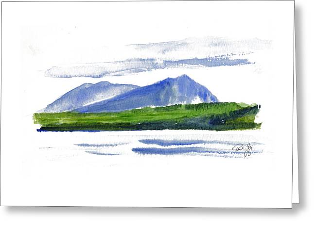 Spencer Greeting Cards - Spencer Mountain Greeting Card by Paul Gaj