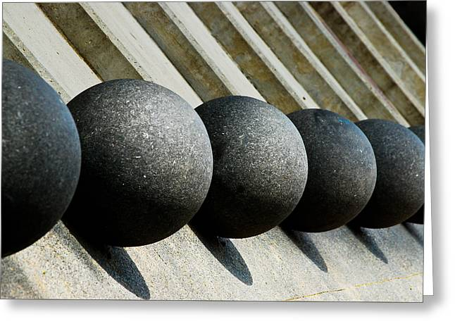 Repetitive Greeting Cards - Spheres and Steps Greeting Card by Christi Kraft