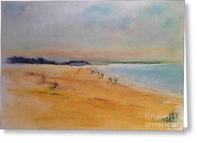 Spiaggia Greeting Card by Gianni Raineri