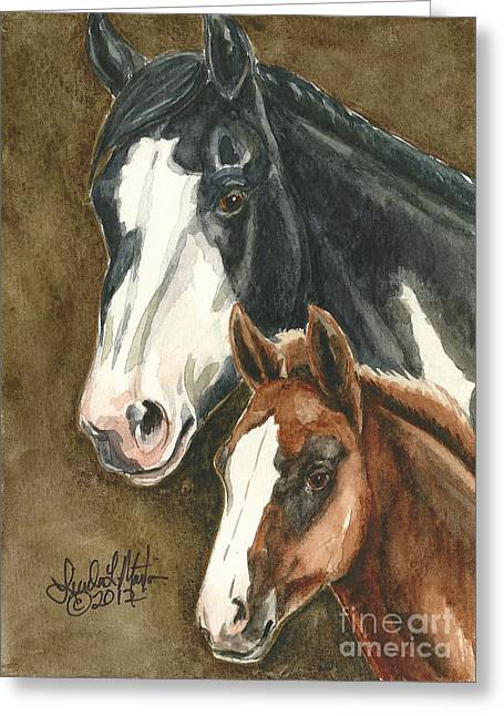Linda L Martin Artist Greeting Cards - Spice and Paprika Greeting Card by Linda L Martin
