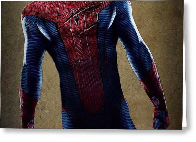 Spider-Man 2.1 Greeting Card by Movie Poster Prints