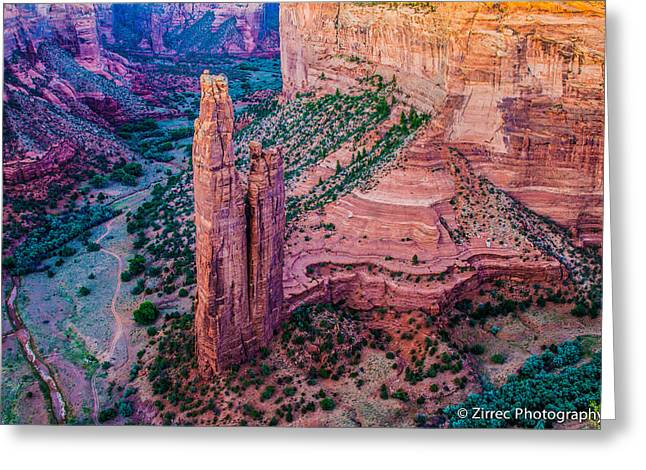 Spider Rock Art Greeting Cards - Spider Rock Greeting Card by Sully Samartzis