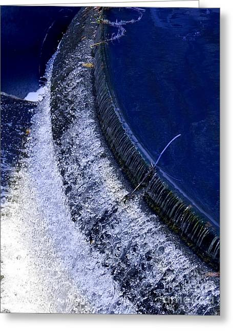 Ps Greeting Cards - Spillway In Cuenca Greeting Card by Al Bourassa