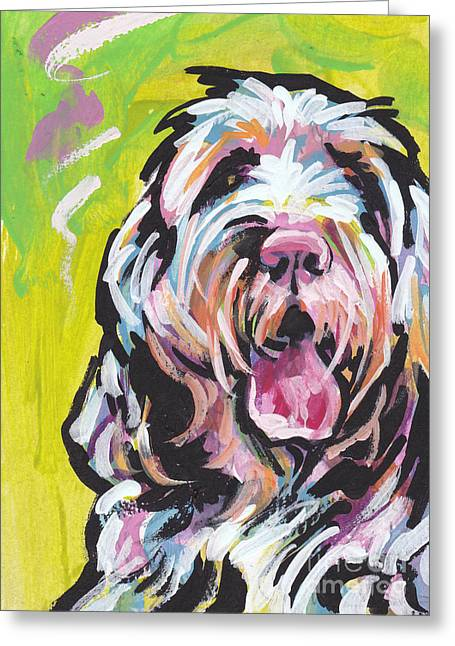 Puppies Greeting Cards - Spin One Baby Greeting Card by Lea