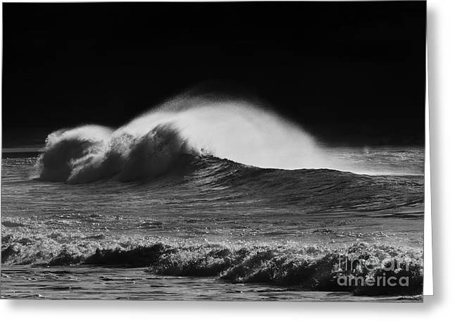 Ocean Spray Greeting Cards - Spindrift Greeting Card by Mike  Dawson