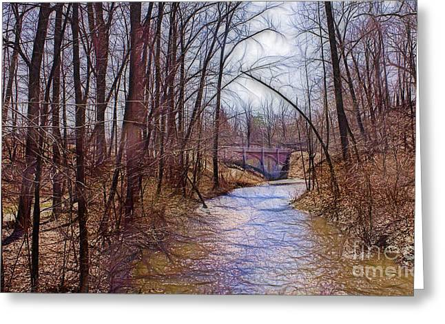 Akron Falls Greeting Cards - Spingtime in Western New York Greeting Card by Jim Lepard