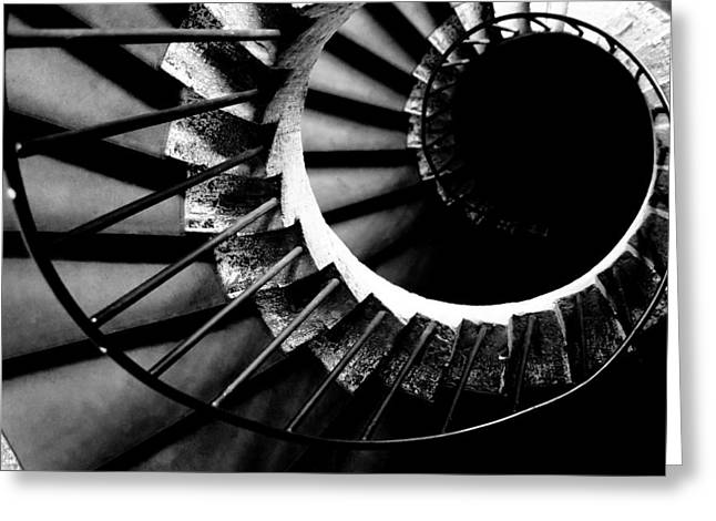 Spiral staircase Greeting Card by Fabrizio Troiani