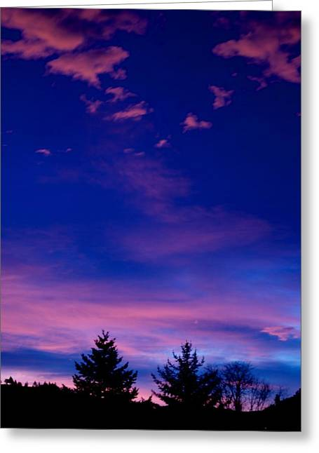 Sunset Posters Greeting Cards - Spirit Above Greeting Card by Kevin Bone