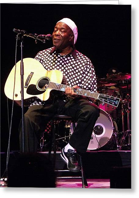 Buddy Greeting Cards - Spirit Buddy Guy Greeting Card by Iconic Images Art Gallery David Pucciarelli