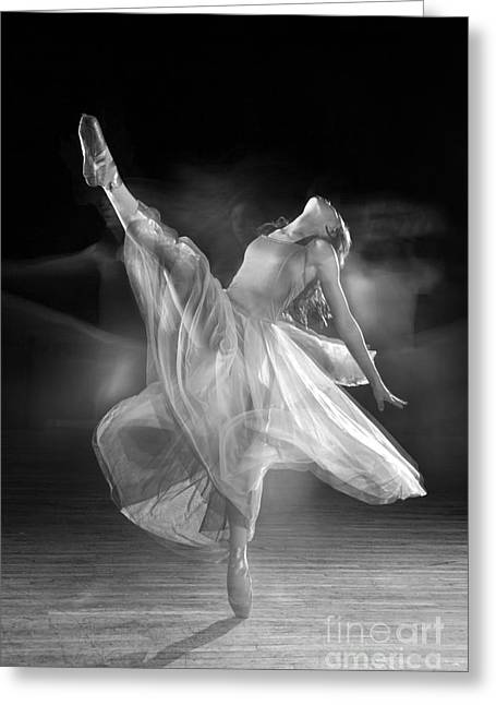 Dancing Greeting Cards - Spirit Dance Greeting Card by Cindy Singleton