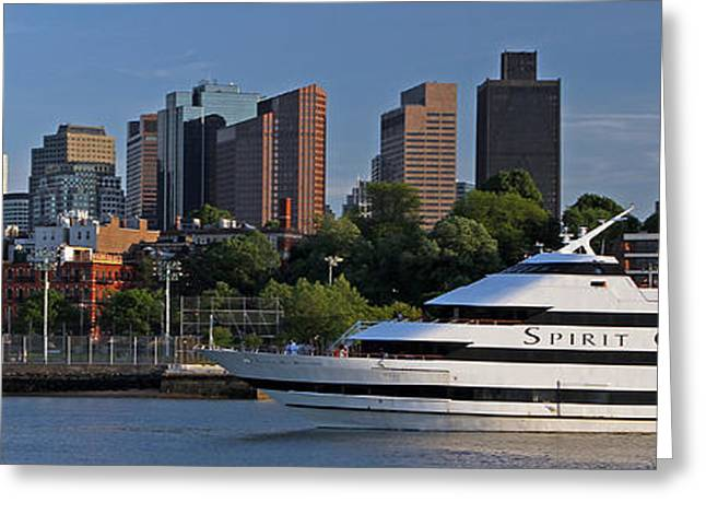 One Spirit Greeting Cards - Spirit of Boston Greeting Card by Juergen Roth