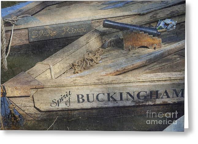 Spirit Of Buckingham Greeting Card by Pete Hellmann