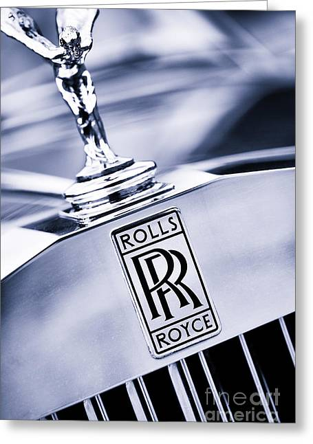 Car Mascots Greeting Cards - Spirit of Ecstasy Greeting Card by Tim Gainey