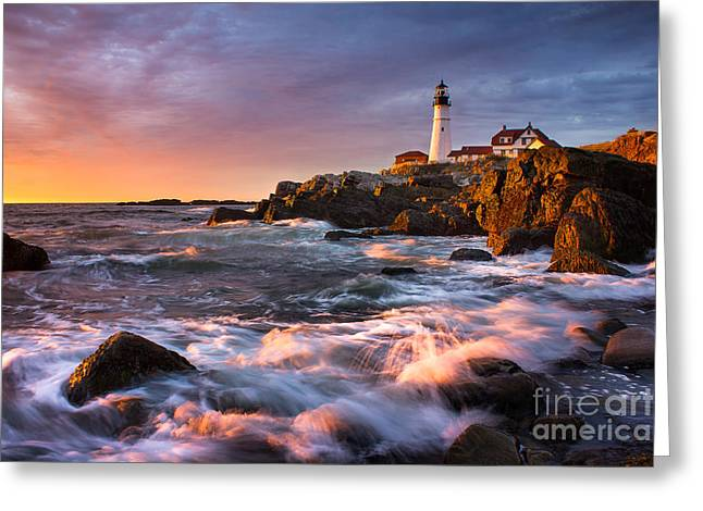 Maine Icons Greeting Cards - Spirit of Maine Greeting Card by Benjamin Williamson