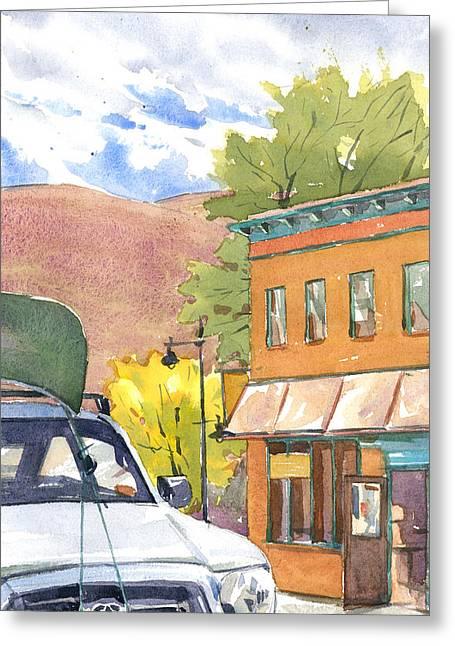 Spirit Of Moab Greeting Card by Jeff Mathison