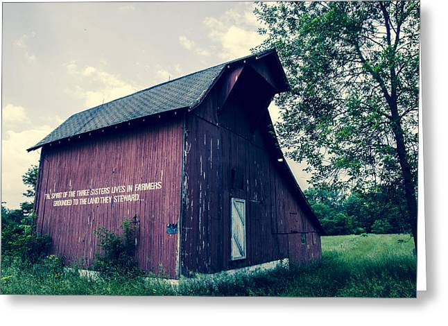 Rural Indiana Greeting Cards - Spirit Of The Three Sisters Greeting Card by Off The Beaten Path Photography - Andrew Alexander